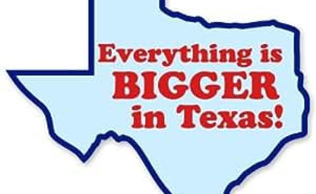 Amazon Everything Is Bigger In Texas Vinyl Sticker