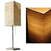 2 Table Lamps Asian Rice Paper Mood Lighting - Table Lamps ...