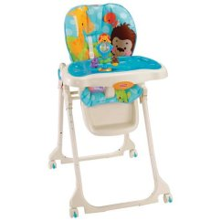 Safari High Chair Space Saver Dining Table And Chairs Fisher Price Precious Planet