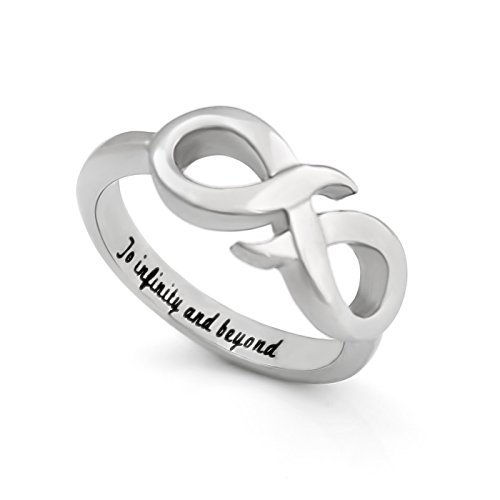 Infinity Ring for Girlfriend or Boyfriend, Promise Ring