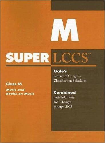 M Class Library of Congress book
