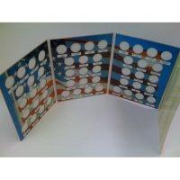 New Unique 4 Page 50 State Coin Quarter Collection Album ...