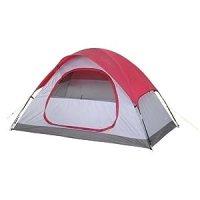 """Amazon.com: Embark Red 2 Person Dome Tent - 4'6""""X7'6""""X48 ..."""