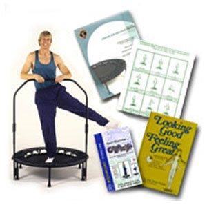 Amazoncom  David Halls Cellerciser Rebounder Trampoline Kit  Exercise Trampolines  Sports