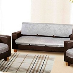 Amazon Sofa Set 5 Seater Sharon Corner Grey And Black Fabric Chenille Leather 35 Off On Cloth Fusion Attractive Leatherite Covers Of 10 Pcs Brown Buy