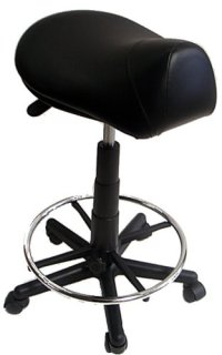 Saddle Stool with Foot Rest Ring | Your #1 Source for ...