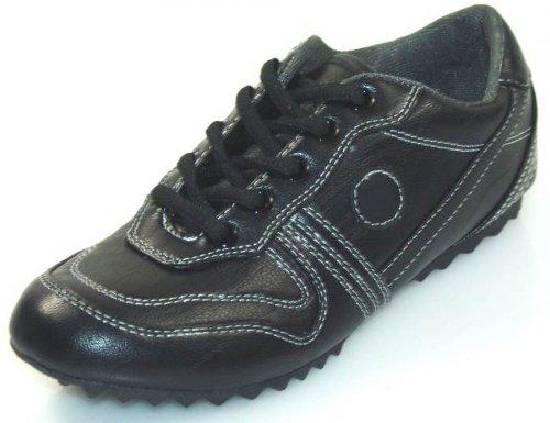 Designer Sneaker für Kinder schwarz, Groesse:32.0