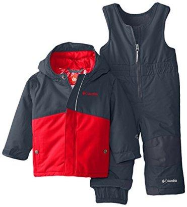 Columbia-Baby-Buga-Snow-Set-GraphiteBright-Red-18-24-Months