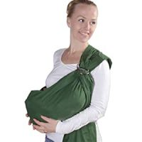 Nava New Green Infant Baby Ring Sling Carrier Baby Pouch ...