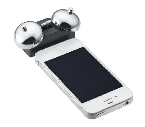 NOA iBell mini アイベル ミニ  Wakeup Alarm for iPhone ベルアラーム N-015 WH ホワイト N-015 WH