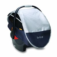 Munchkin BRICA Infant Comfort Canopy Car Seat Cover, Grey ...