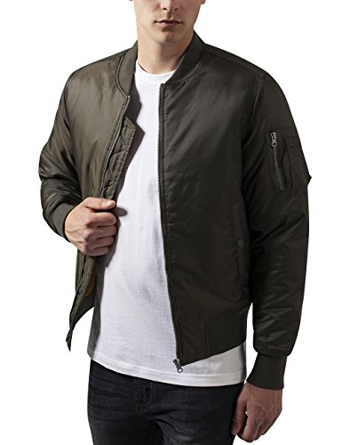 Urban Classics Herren Jacke Basic Bomber Jacket
