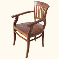 Amazon.com - Solid Wood Arm Dining Chair Furniture - Chairs