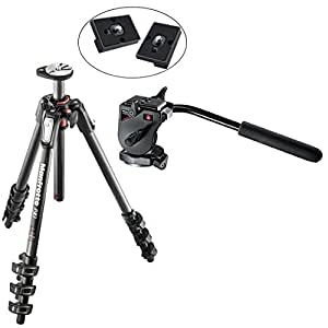 Amazon.com : Manfrotto MT190CXPRO4 4 Section Carbon Fiber