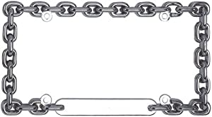Amazon.com: Custom Accessories 92550 Chrome Round Chain