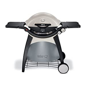 Weber 586002 Q 320 Portable Outdoor Propane Gas Grill