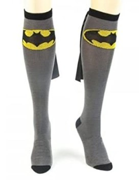 Batman Caped Socks