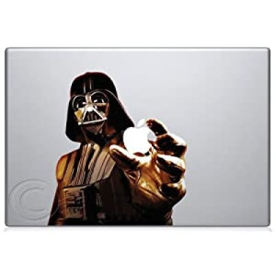 Awesome Darth Vader Apple Macbook vinyl decal laptop skin at amazon