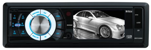 BOSS Audio BV7280 In-Dash Single-Din 3.2-inch Detachable Screen USB/SD/MP4/MP3 Player Receiver with Remote
