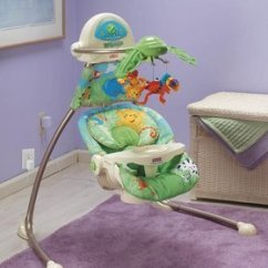 Fisher Price Rainforest High Chair Recall Gaming Office Graco Swing For Open Top Cradle Swinglow Prices