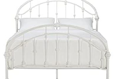 Amazon White Metal Bed Frames Beds Bed Frames