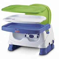 Booster Seat Straps To Chair High Heel Shoe Value City Fisher-price Healthy Care Deluxe Seat, Blue/green/gray