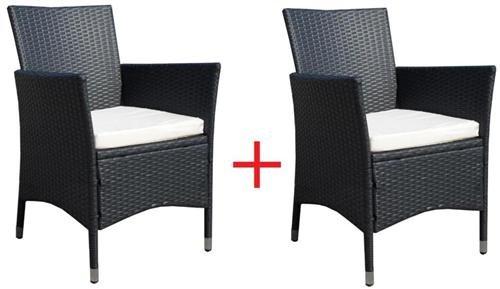 2 x Rattan Sessel Stuhl Stühle Gartenmöbel Rattansessel Rattanstühle Rattanstuhl Rattanmöbel