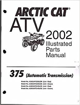 2002 Arctic Cat ATV 375 AUTOMATIC TRANSMISSION Parts