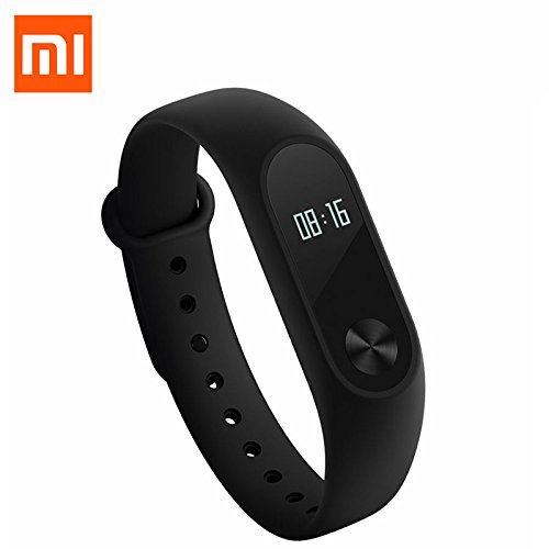 Xiaomi Mi Band 2 Activity Tracker Smart Band Bluetooth 4.0 OLED Display-Nero