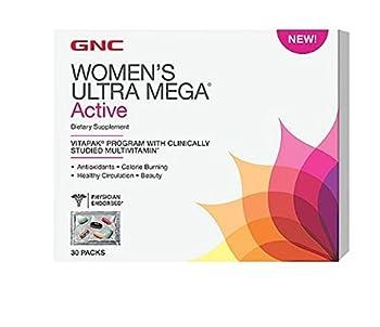 GNC Womens Ultra Mega Active Supplement 30 Count