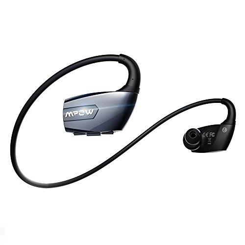 Mpow Antelope Bluetooth 4.1 ワイヤレスイヤホン スポーツヘッドセット マイク内蔵 ハンズフリー通話 CVC6.0搭載 iPhone&Android などのスマートフォンに対応ブラック