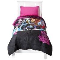 Discount comforter sets: Monster High Twin Bedding Set