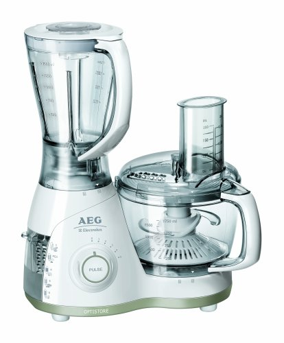 Billig Aeg Fp 4200 Kuchenmaschine Optistore All In One 700 Watt