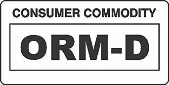 GC Labels-ORM-D-WHITE, ORM D Consumer Commodity White