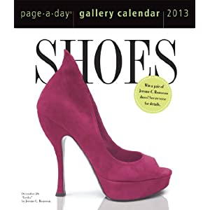 Shoes 2013 Gallery Desk Calendar