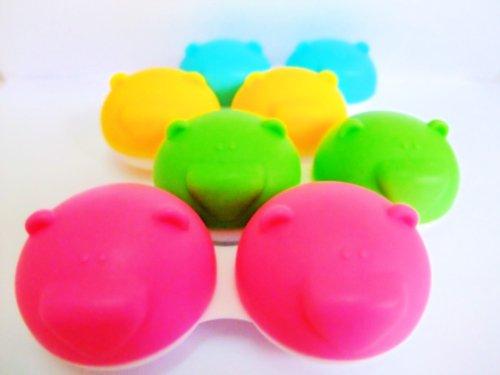 Bear - Kontaktlinsen Behälter - Verschiedene Farben (4 Stück)
