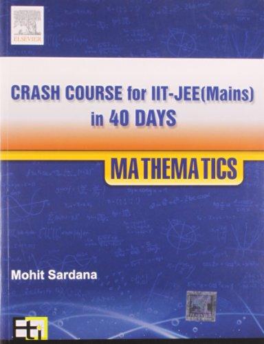 Crash Course for JEE Main - Mathematics