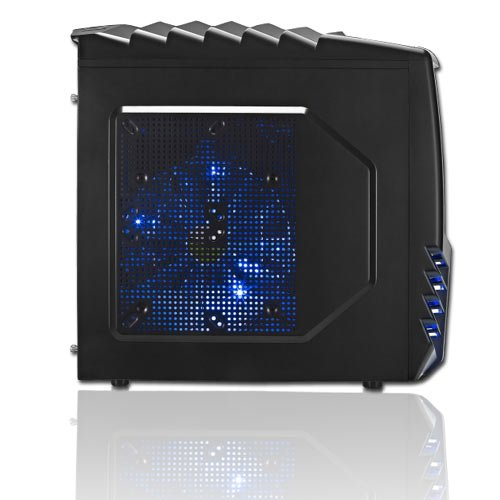 KCS 184202 - Gamer-PC Intel i7-3770 Quadcore 4x 3,4GHz (Turbo bis 3,9GHz) | 8GB DDR3-1333 | 1000 GB SATA3 (6gb/s) | nVidia Geforce GTX650 2048MB GDDR5 (3DVision+DirectX11) | 22xDVD-RW | ASUS P8B75-M LX | USB3.0 | 5.1 Sound | Gigabit-LAN | Cardreader | 500W | Modding-Gehäuse | Microsoft Windows 7 Home Premium 64-Bit