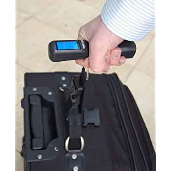 Cabin Max Digital Portable Travel Luggage Scale with Free Carry Bag - batteries included