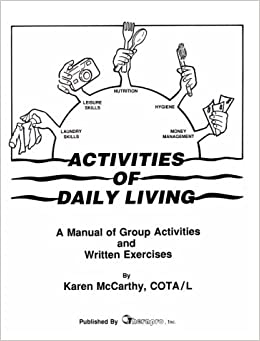 Amazon.com: Activities of Daily Living Manual: Group