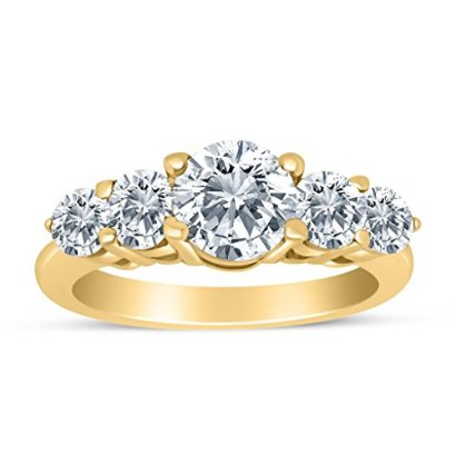 150ctw-Diamond-Five-Stone-Graduated-Ring-in-14k-Yellow-Gold