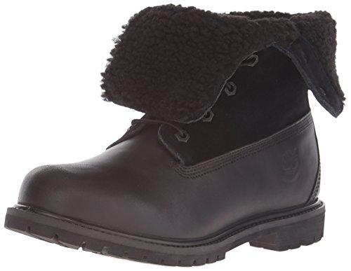 Timberland Women's Teddy Fleece Fold-Down Waterproof Ankle Boot