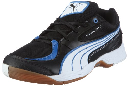 Puma Vellum II 102064, Herren, Sportschuhe - Indoor, Schwarz (black-white-puma royal 06), EU 43 (UK 9) (US 10)