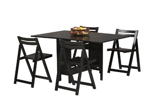 Buy Low Price Linon Home Decor Products 5pc Dinette Dining Table And Folding