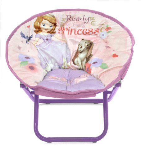 saucer chair for kids camping chairs fat people disney sofia the first toddler epic toys home
