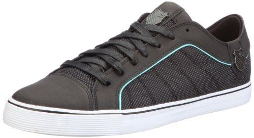 K-Swiss HWD T VNZ 02684-057-M, Herren Sneaker, Schwarz (Black/Aruba Blue), EU 43 (UK 9)
