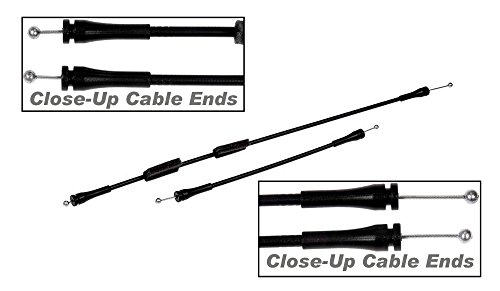 APDTY 035462 Door Latch Cable Set Fits Rear Right