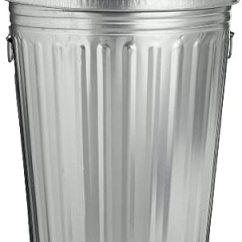 30 Gallon Kitchen Trash Can Tables Ashley Furniture Amazon.com: Magnolia Brush Gal. Galvanized ...