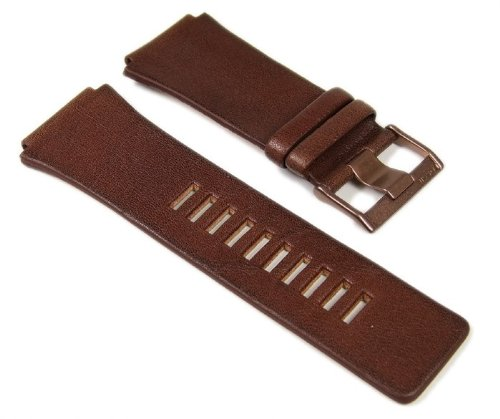 Fossil Ersatzband Uhrenarmband Leder Band Braun 26mm JR9309