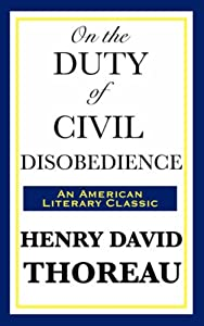 """Cover of """"On the Duty of Civil Disobedien..."""